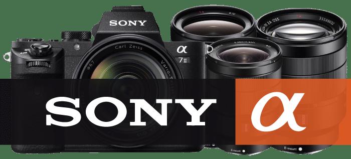 ให้เช่ากล้อง Sony ให้เช่าเลนส์ Sony