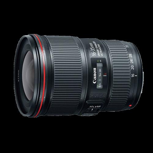 ให้เช่า Canon 16-35mm f/4L IS