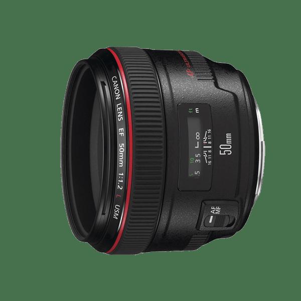 ให้เช่า Canon 50 mm 1.2L