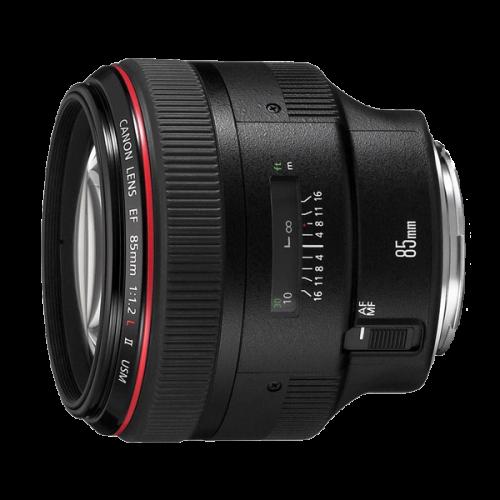 ให้เช่าเลนส์ Canon 85 mm 1.2L USM