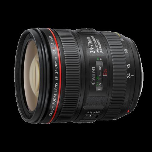 เลนส์ ให้เช่า Canon EF 24-70 f/4L is ให้เช่า