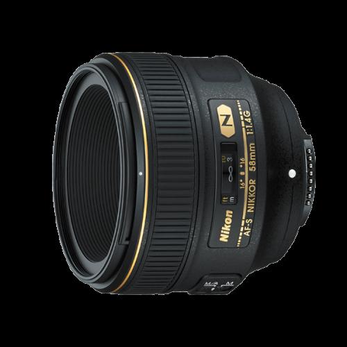 เช่าเลนส์ Nikon 58mm f/1.4G