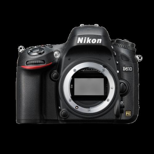 ให้เช่ากล้อง Nikon D610 ครบชุด