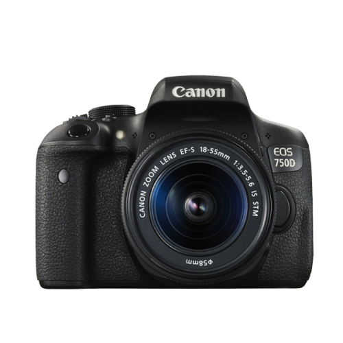 ให้เช่ากล้อง Canon 750d ราคา 400 บาท/วัน