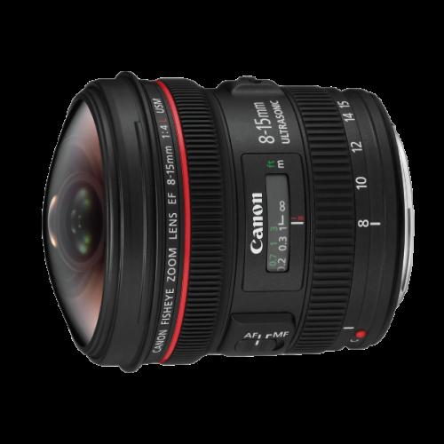 ให้เช่าเลนส์ Canon 8-15mm f/4L