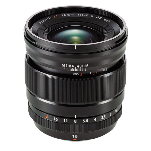 ให้เช่าเลนส์ Fujifilm 16mm f1.4 WR