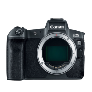 Canon EOS R Body + EF-EOS R Adapter [Mirrorless]